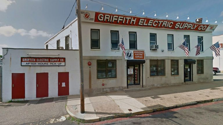 Franklin Griffith Electric across South Broad St. from Sun National Bank Arena is in Trenton's Urban Enterprise Zone. (<a href=