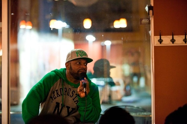 <p>&lt;p&gt;Host and comedian Craig McLaren starts the show at the Wired Beans Cafe on Chelten Avenue in Germantown. He hopes to promote hidden talent in Philly through the weekly event. (Brad Larrison/for NewsWorks)&lt;/p&gt;</p>