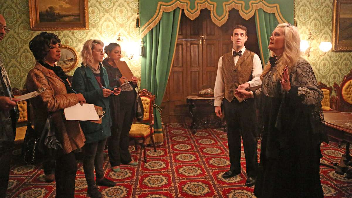 Image result for Murder-Mystery Play at Ebenezer Maxwell Mansion