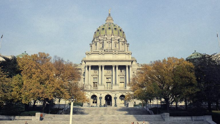 State Capitol in Harrisburg, Pennsylvania in an undated photo. (AP Photo)