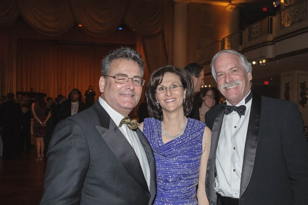 <p><p>Richard Wolfson, trustee of Einstein Healthcare Network andEinstein Medical Center Montgomery (left), his wife, Nancy, and Barry R. Freedman, President and Chief Executive Officer, Einstein Healthcare Network (Photo courtesy of Jeff Price)</p></p>