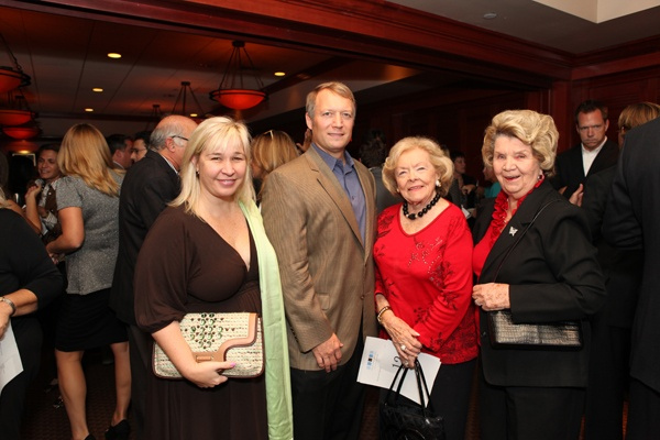 <p><p>Event committee members Suzie and Scott Rehl (left), Dr. Elizabeth Bowden and Joan McGowan (Photo courtesy of Beth Erisman)</p></p>