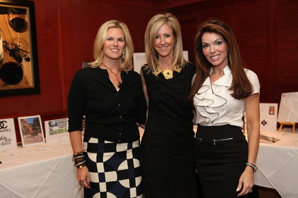 <p><p>Event co-chair Amy Eads of Shipley School (left), Helpusadopt.org co-founder and executive director Becky Fawcett, and event co-chair and board member Lisa Glassner Kovacs (Photo courtesy of Beth Erisman)</p></p>