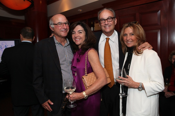 <p><p>Event committee members and presenting sponsors Jerry Slipakoff of the Galman Group (left) and Donna Slipakoff, with Harvey and Babs Snyder (Photo courtesy of Beth Erisman)</p></p>