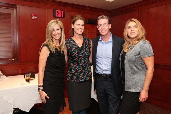 <p><p>Helpusadopt.org co-founder and executive director Becky Fawcett (left), event committee members Melissa and Roy Kaiser, and Pennsylvania Ballet artistic director and board member Anna Vitelli of PNC Wealth Management (Photo courtesy of Beth Erisman)</p></p>