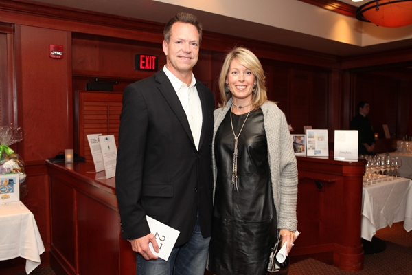 <p><p>Committee members Matt Gillin, CEO of Relay Network, and Lisa Gillin (Photo courtesy of Beth Erisman)</p></p>