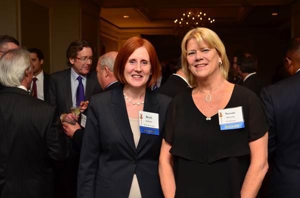 <p><p>National Liberty Museum board members Beth Galvin of Ernst & Young (left) and Susan Stevens of US Airways (Photo courtesy of Tim Evans)</p></p>