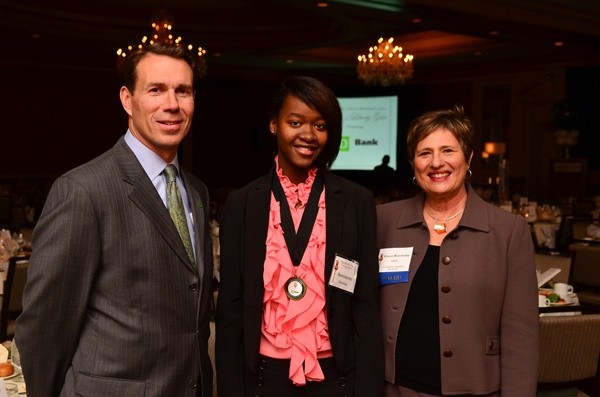 <p><p>Honoree Tom Shoemaker (left), 2012 Young Heroes Awardee and Franklin High School grad Antoinette Dawkins, and Pennsylvania Market President of TD Bank and National Liberty Museum CEO Gwen Borowsky (Photo courtesy of Tim Evans)</p></p>