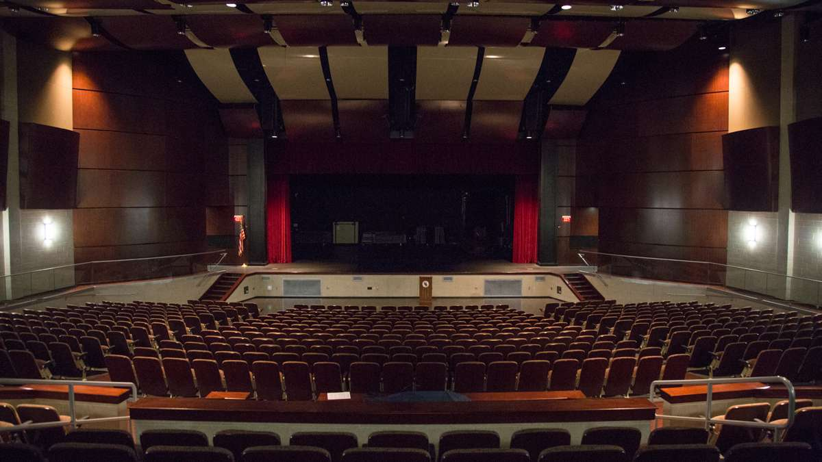 The performing arts auditorium at Upper Dublin High School. (Emily Cohen for NewsWorks)