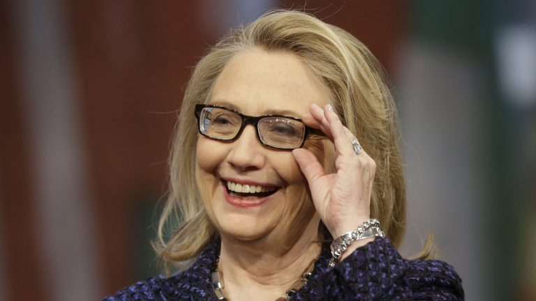 Hillary Rodham Clinton is shown as secretary of state in 2013. (AP Photo/Pablo Martinez Monsivais, file)