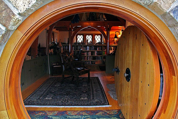 <p>&quot;It was a hobbit hole, and that means comfort,&quot; wrote J.R.R. Tolkein, who inspired Vince Donovan to build a hobbit hole in rural Chester County. (Emma Lee/for NewsWorks)</p>