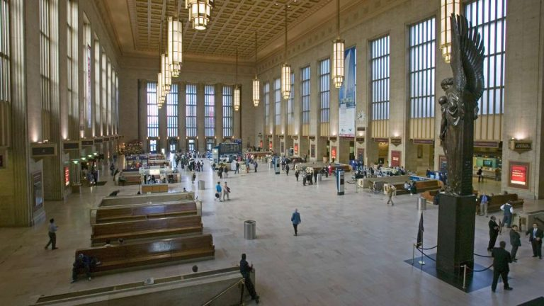 Interior of 30th Street Station in Philadelphia. (Shutterstock, file)