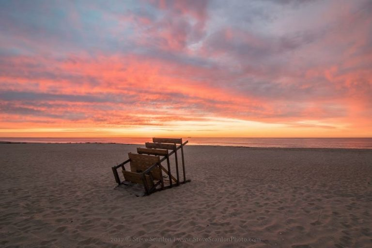 5:18 a.m today in Seven Presidents Park in Long Branch by Steve Scanlon Photography.