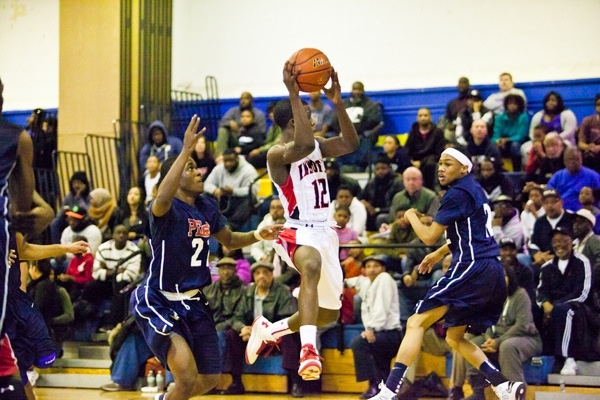 <p>&lt;p&gt;Imhotep's Jakwan Jones leaps to catch to a pass in his teams 51-43 win over Philadelphia Electrical. (Brad Larrison/for NewsWorks)&lt;/p&gt;</p>