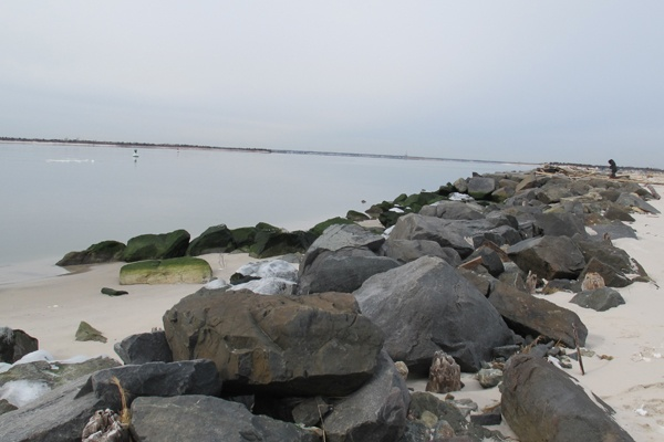 <p>&lt;p&gt;Stones at the jetty along the Barnegat Inlent at the southern end of Island Beach State Park were undermined by Sandy. (Phil Gregory/for NewsWorks)&lt;/p&gt;</p>