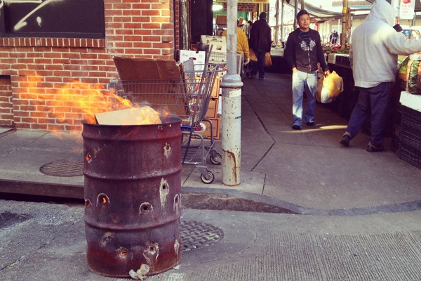 <p>&lt;p&gt;The ubiquitous burning trash cans of the Italian Market &#x2014; summer, winter, whenever there's trash to burn. (Emma Fried-Cassorla/Philly Love Notes)&lt;/p&gt;</p>