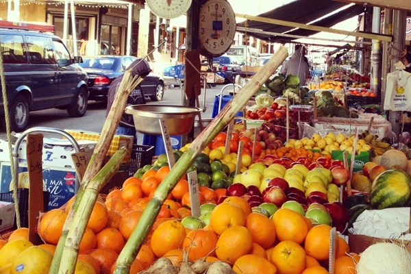 <p>&lt;p&gt;Fruit-and-vegetable stands run through 9th Street like rainbows in Philadelphia's Italian Market. (Emma Fried-Cassorla/Philly Love Notes)&lt;/p&gt;</p>