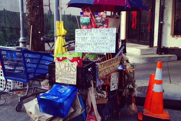 <p>&lt;p&gt;The Italian Market inspires an entrepreneurial spirit, as evidenced by this one-man delivery service operation. (Emma Fried-Cassorla/Philly Love Notes)&lt;/p&gt;</p>