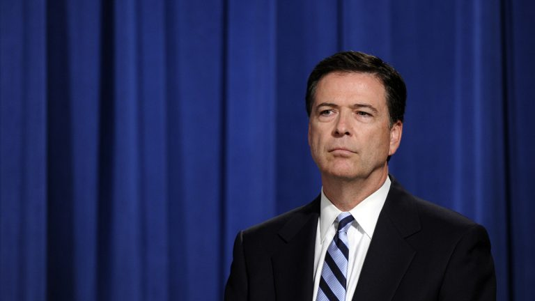 FBI Director James Comey is shown in Washington, D.C. (AP Photo/Susan Walsh, file)