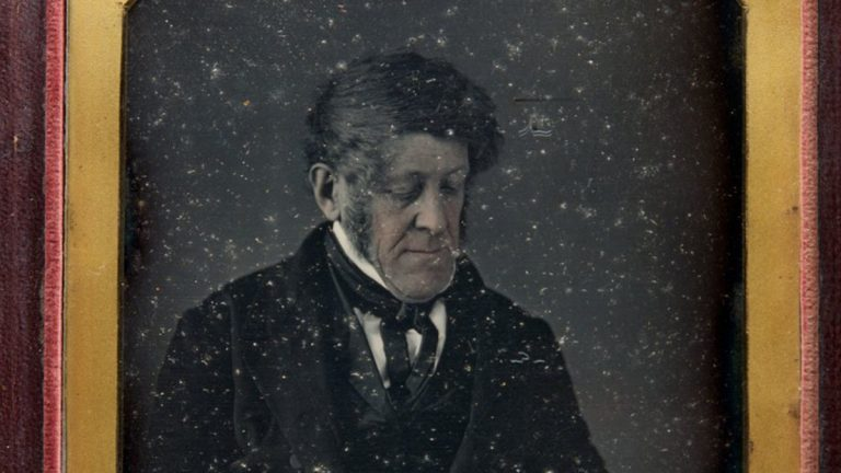 Daguerreotype of Jonah Thompson, c. 1847 (Library Company of Philadelphia)