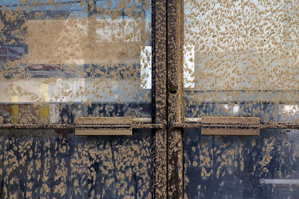 <p>Most of the town is coated in a thick layer of sand. ( Jana Shea /for NewsWorks )</p>