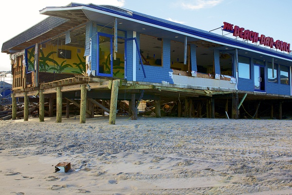<p>The Beach Bar Grill will be demolished and rebuilt.  ( Jana Shea /for NewsWorks )</p>