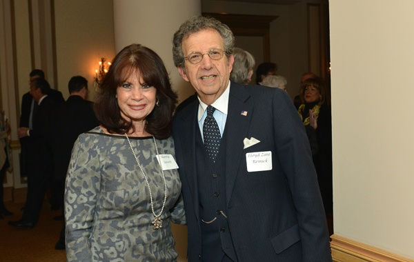 <p><p>Sherrie Savett of the law firm Berger & Montague and Lloyd Zane Remick, president of Zane Management (Photo courtesy of Edward Savaria, Jr.)</p></p>