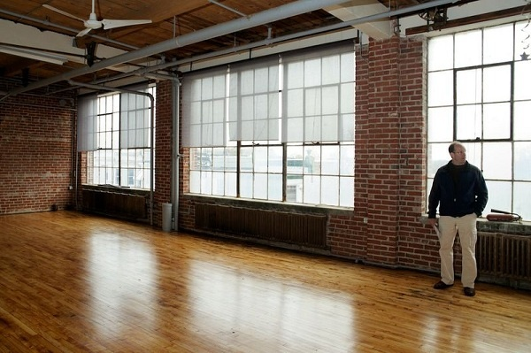 <p><p>Developer Ken Weinstein led NewsWorks on a tour of what will soon be the Lofts @ Kendrick Mill. (Bas Slabbers/for NewsWorks)</p></p>