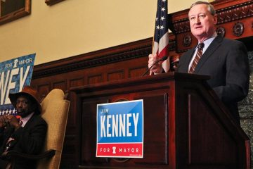 Jim Kenney told NinetyNine that politics weren't always his calling. In fact, he wanted to get a law degree. (Kimberly Paynter/WHYY)