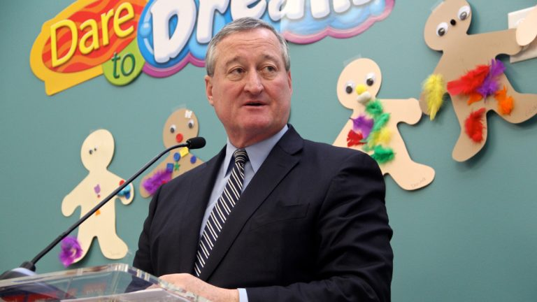 Mayor Jim Kenney wants to create 25 community schools over the next four years. (Emma Lee/WHYY)