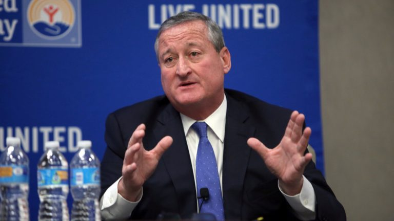 Jim Kenney speaks at the United Way Debate at the DoubleTree by Hilton Hotel in Philadelphia last month. (Stephanie Aaronson/for The Next Mayor)
