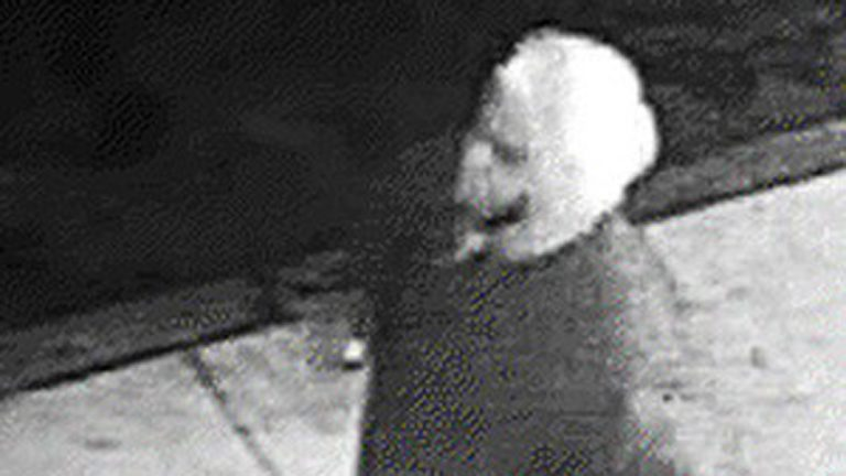 In December 2010,  the Philadelphia Police Department released this photo from a surveillance camera of a possible suspect in connection with  violence in Kensington. (Philadelphia Police Department)
