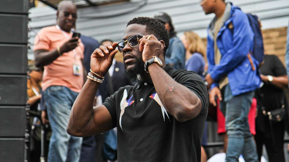 Kevin Hart celebrated his 38th birthday in Philadelphia where a mural of him was dedicated on July 6th.