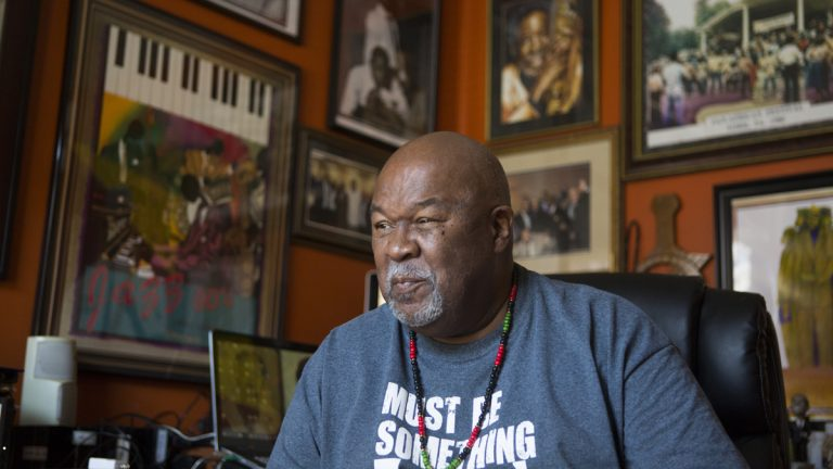 Jeff Kirkland is a local historian who recently founded the Historical African American Preservation Society in the city of York, Pennsylvania. Listen to his story on the latest episodes of Grapple. (Jessica Kourkounis/For Keystone Crossroads)