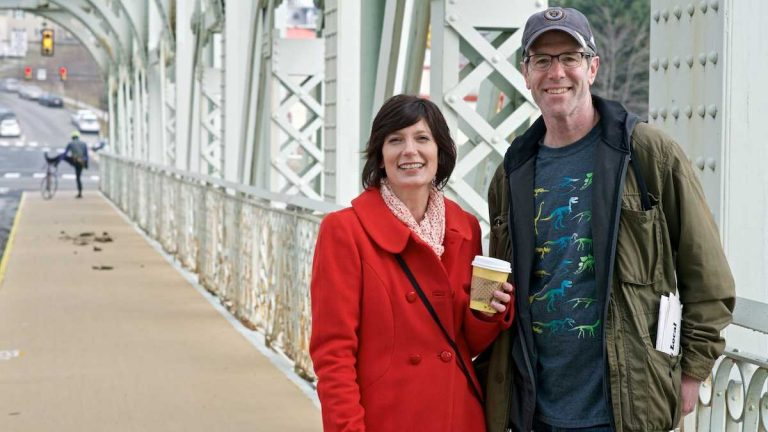 Carolyn and Steve Fillmore started East Falls Local. It's part blog, part news site, part community forum. Read more about it in our full look at community news in the Northwest. (Bas Slabbers/for NewsWorks)