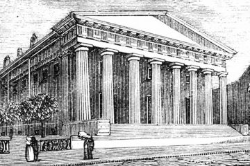 The Second Bank of the United States in Philadelphia (WikiCommons)