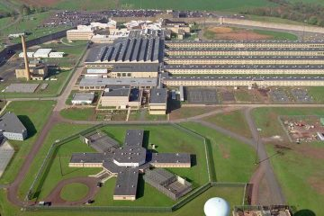 Aerial view of Graterford State Prison in Southeastern Pennsylvania. (Chris Gardner/AP Photo)