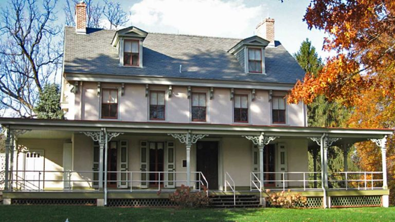 Alice Paul grew up in this home in Mt. Laurel, N.J., which is now the home for the API. (Courtesy of the Alice Paul Institute)