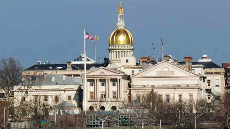 The State Capitol in Trenton, New Jersey. (Alan Tu/WHYY)