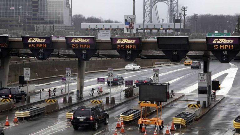 This is the scene of the infamous traffic jam that figured in Bridgegate. (AP file photo)