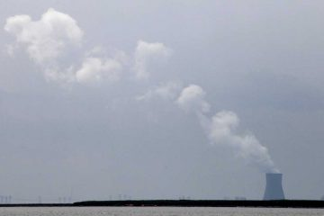 Steam clouds rise from PSEG's nuclear complex in Lower Alloways Creek Township, New Jersey. (AP file photo)