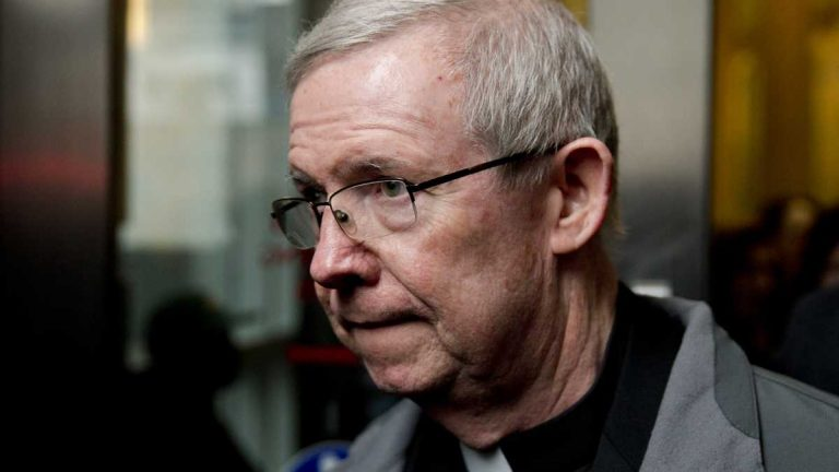 The retrial of Monsignor William Lynn may not begin until next year. (AP file photo)