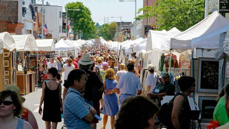 Check NewsWorks this week for the a recap of the 2013 Manayunk Arts Festival. (Bas Slabbers/NewsWorks, file)