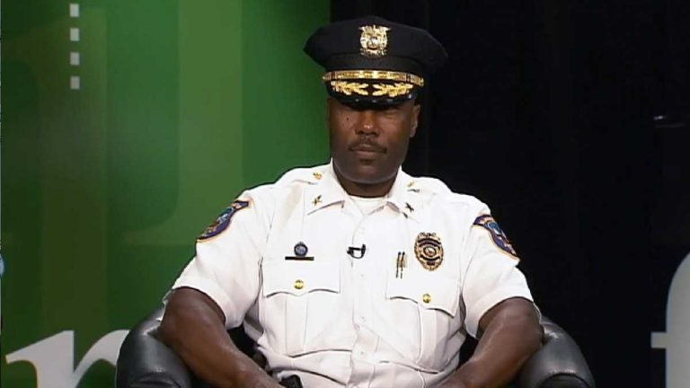 Wilmington Police Chief Bobby Cummings will retire next week. (File/WHYY)