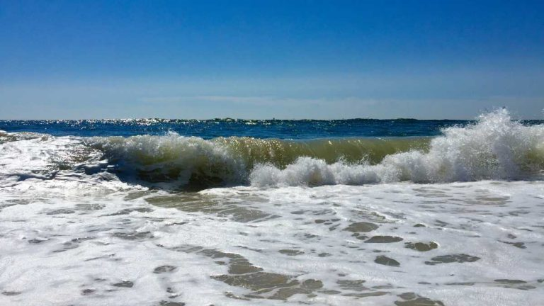 Rough conditions off South Seaside Park in early August 2015. (Photo: Justin Auciello)