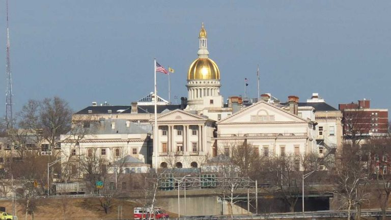 The State Capitol building in Trenton, N.J. (Alan Tu/WHYY)