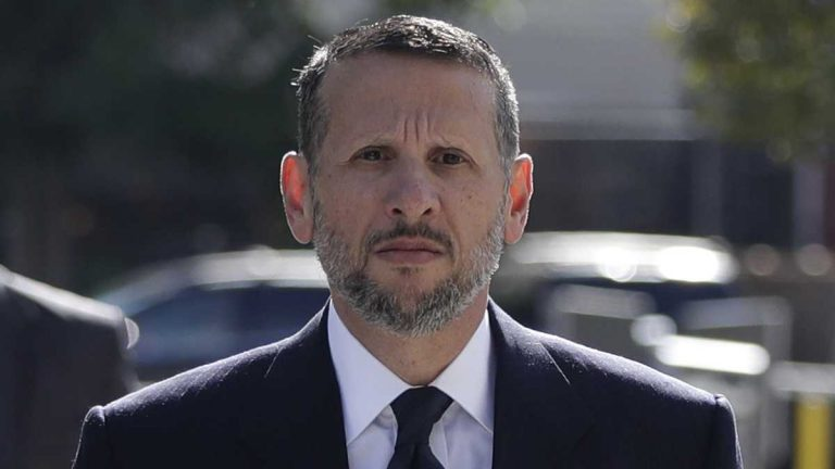 In this Sept. 23, 2016, file photo, David Wildstein arrives at Martin Luther King Jr. Federal Courthouse in Newark, N.J. Wildstein pleaded guilty last year to orchestrating traffic jams in 2013 to punish a Democratic mayor who didn't endorse Gov. Chris Christie. (Julio Cortez/AP Photo)