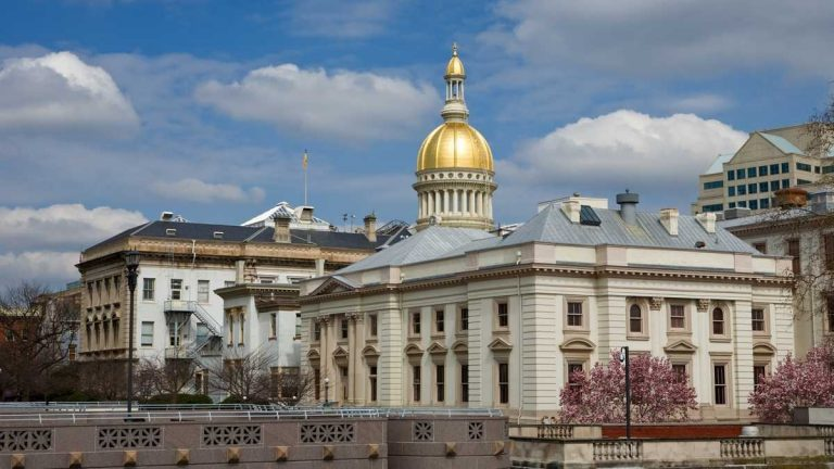 New Jersey state capitol building in Trenton. (NewsWorks file photo)