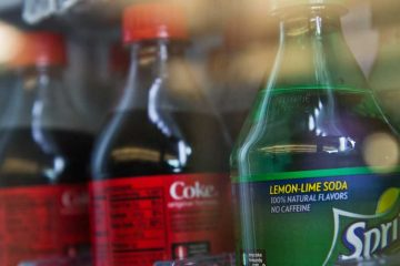 Soda and other sugary drinks have seen a hike in prices thanks to Philadelphia's tax on sweetened beverages. For 20-ounce beverages, the increase amounts to 30 cents. (Kimberly Paynter/WHYY)