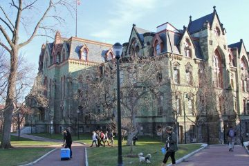 College Hall on the University of Pennsylvania campus. (Emma Lee/WHYY)